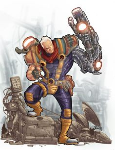 Cable colors by Fpeniche on @DeviantArt
