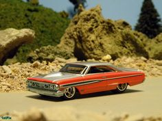 Hot Wheels diecast 1964 Ford Galaxie by PMC 1stPix, via Flickr