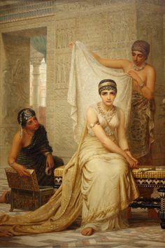 """ARTIST: Edwin Longsden Long ~ """"Queen Esther."""""""