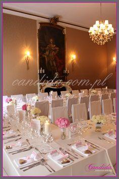 #dekoracjeślubne #wesele #dekoracje dekoracje stołów weselnych restauracja Pod Gigantami