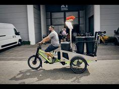 """Optimal für alle (Stadt-)Reinigungsdienste: Unser """"Caretaker""""-Aufbau für das Musketier #Lastenrad #Cargobike #nachhaltigeMobilität #Caretaker #Stadtreinigung"""