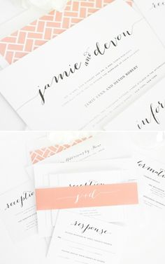 Like these, maybe a different envelope liner print -- but really like the fonts and colors, and overall look