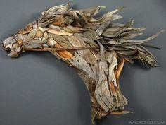 10 Stunning Scrap Wood Sculptures