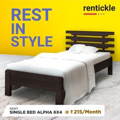 Stylize your bedroom with the trendiest curation of beds available on our site! Rent Now! Keep it simple with Rentickle! Small Space Living, Small Spaces, Beds Online, Delhi Ncr, New Beds, Rental Property, Pune, Hyderabad, Home Renovation