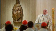 """""""Que nunca, nunca, nunca se apague en nuestro corazón la nostalgia de Dios"""". Es el deseo del Papa Francisco en la primera Misa en la Casa Santa Marta después de su Visita Apostólica a Cuba y Estados Unidos, en la que explicó la importancia de este tema para el corazón humano."""