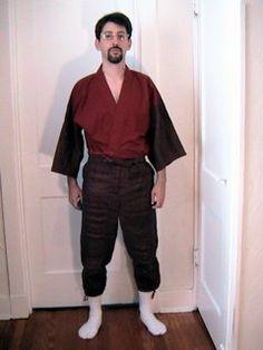 Japanese Garb- Monpe Pants pattern