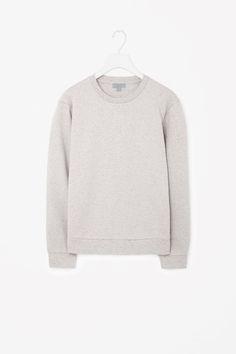 Speckled cotton sweatshirt