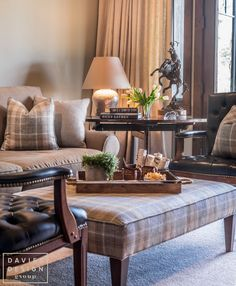 Davies Design Group -Mountain Ranch Study Colorful Furniture, Room Colors, Entryway Tables, Ranch, Mountain, Study, Group, Living Room, Design