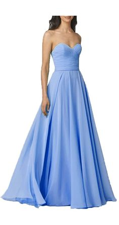 Okaybridal Women's Long Sweetheart Neck A Line Floor Length Bridesmaid Dress for Weddings * Check this awesome product by going to the link at the image. (This is an affiliate link and I receive a commission for the sales)