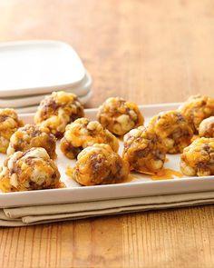 Sausage Crescent Cheese Balls Recipe
