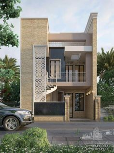 Most Amazing Prefer House Design Forever - Engineering Discoveries Bungalow House Design, House Front Design, Small House Design, Modern House Design, Latest House Designs, Cool House Designs, Model House Plan, House Plans, Modern Bungalow House