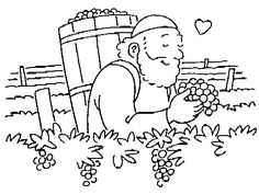 Vineyard _5.gif (500×375)-coloring sheet for Naboth's Vineyard