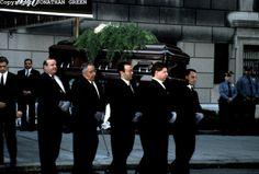 jackie kennedy onnassis funeral photos | Jackie Kennedy Onassis Funeral by Jonathan Green | Jonathan Green ...