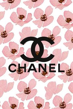 Monogram Wallpaper, Vs Pink Wallpaper, Iphone Wallpaper Vsco, Hello Kitty Wallpaper, Cute Wallpaper Backgrounds, Mobile Wallpaper, Cute Wallpapers, Chanel Decor, Chanel Art
