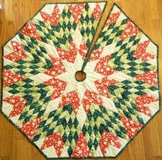 Christmas in July Handcrafted The Star Under por Quiltsbysuewaldrep