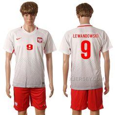 http://www.xjersey.com/201617-poland-9-lewandowski-home-jersey.html 2016-17 POLAND 9 LEWANDOWSKI HOME JERSEY Only 33.11€ , Free Shipping!