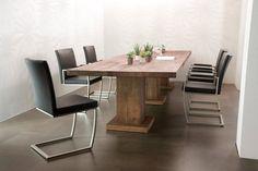 DRAGON Stühle Esszimmer Büro Freischwinger 2er Set Kunstleder