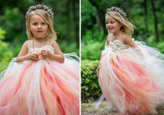 Planning a garden wedding? This flower girl dress is a must-have.