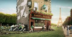 Heineken Rugby Pub by Yoke Productions , via Behance