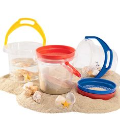 Sand Bucket And Sifter Set
