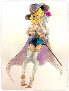 One Piece, Cavendish (fem)