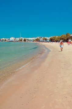 Saint George beach, Naxos, Cyclades, Greece