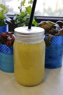 Ania mama Agnieszki: Koktajl z ananasa, awokado, banana, gruszki i olej...