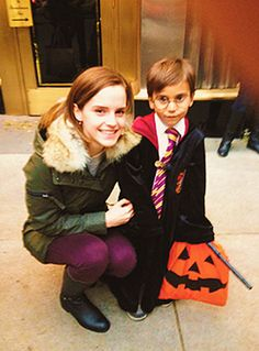 Emma Watson to 5 year old boy: 'Excuse me, are you Harry Potter? That's great, because I'm Hermonie Granger and we're best of friends.