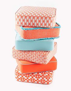 Pillows for patio....great colors!