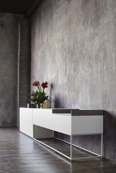 Lacquered MDF sideboard - MDF Italia