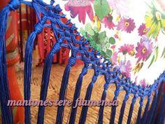Fleco Diy, Fabric, Ideas, Happy, Flamenco Dresses, Weaving Techniques, Tejidos, Ornaments, Tejido