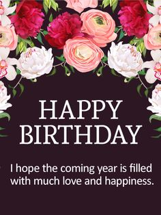 307 best birthday quotes images on pinterest in 2018 messages birthday m4hsunfo