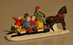 """Department 56 Snow Village """"Hayride"""" #51179 by BackPorchVentures on Etsy"""