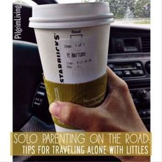 Solo Parenting On the Road: Tips for Traveling Alone with Littles #parentstipsforstress
