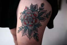 Alice Carrier | floral cover up on newly minted portland tattooer...