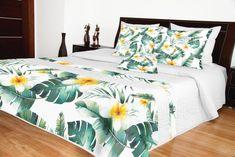 Prehoz cez posteľ v kvetinovom dizajne 3d, Furniture, Home Decor, Decoration Home, Room Decor, Home Furnishings, Home Interior Design, Home Decoration, Interior Design