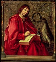 St. John the Evangelist, from the St. Thomas altarpiece by Pedro Berruguete