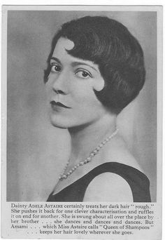 Adele Astaire....the better dancer actually :) although I am a fan of both