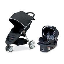 """$399 Britax B-Agile Travel System Stroller - Black - Britax - Babies """"R"""" Us"""