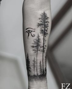 Forest Tattoo by saenz2991