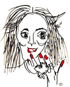 belle BRUT sketchbook: #jourdandunn #fashion #illustration #blindcontour  © belle BRUT 2014 http://bellebrut.tumblr.com/post/93654577490/belle-brut-sketchbook-jourdandunn-fashion