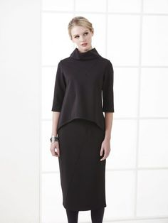 Winter 2017 Archives - Page 2 of 2 - Carmina De Young Fashion Winter 2017, Fall Winter, Young Fashion, Winter Collection, High Neck Dress, Dresses For Work, Tops, Turtleneck Dress, Shell Tops
