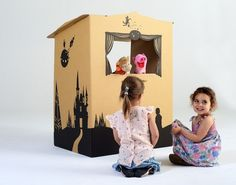 Tinyfolk Creates Eco-Friendly Cardboard Playspaces and Puppetboxes For Imaginative Play
