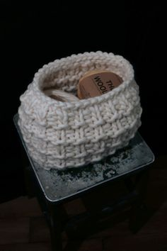 Christopher Basket by WE ARE KNITTERS #knitting