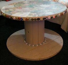 touret table basse id e d co fabriquer loisirs cr atifs touret pinterest maison et. Black Bedroom Furniture Sets. Home Design Ideas