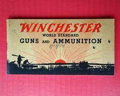 Vintage Winchester Guns & Ammunition Catalog 1933 Form No 1262 Shotgun Ballistic #Winchester