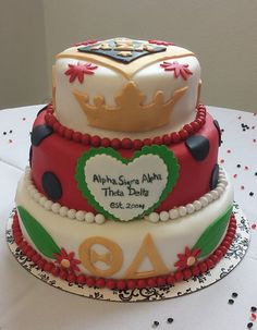 crown cake ~ yes please!