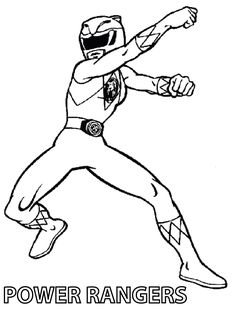 Free Printable Power Rangers Coloring Pages For Kids | Cool stuff to ...