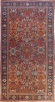 Persian Sultanabad rug - Antique Persian Rug - Antique Rug - BB0252 by Doris Leslie Blau