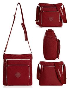 4f700b9a41 Oakarbo says You need a do-it-all crossbody in your life and here it is.  It s made with crinkle nylo. azcoupns · Women s Handbags   Wallets